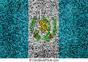 guatemala, bandera, Color, pasto o césped, textura,...