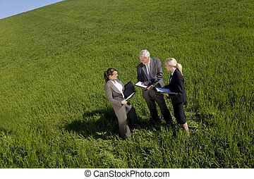 Environmental Planning Team - High angle concept shot of a...