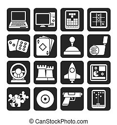 Computer Games tools and Icons