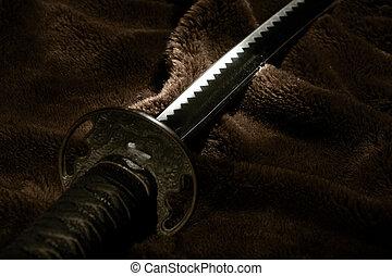 samurai, espada
