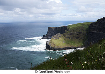 Cliffs of Moher, Ireland - Cliffs of Moher in County Clare,...