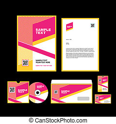 Business identity template - Corporate identity template...