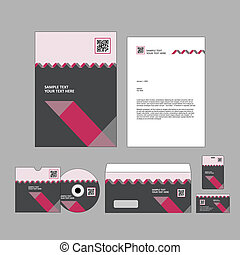 Business identity template - Template for Business artworks....