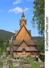 Heddal Stave Church in Norway - Heddal Stave Church is...