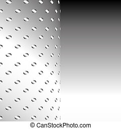 Aluminium Metal mesh background or texture