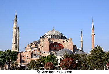 Famous Hagia Sophia church in Istanbul - Famous Hagia Sophia...