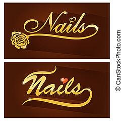 nails saloon symbol
