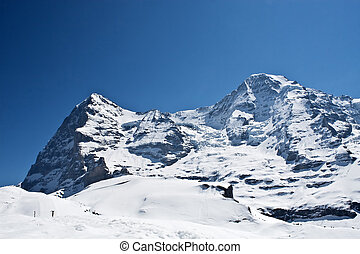 Eiger and MoenchMonk - 2 peak