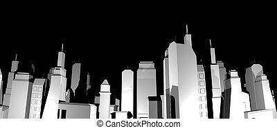 Night city - Creative design of night city