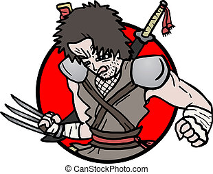 Icon warrior - Creative design of icon warrior