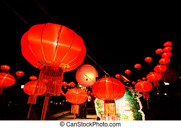 Chinese New Year Festival A chinese lantern with lots more...