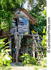 House in the jungle - Tropical beach house in the jungle...