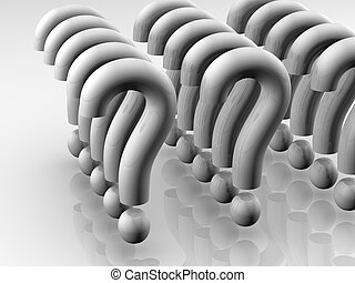Question mark formation