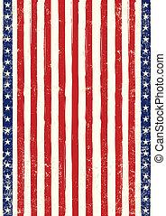 American flag poster grunge