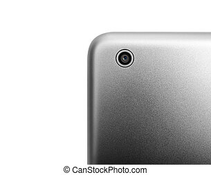 Mobile Camera Lens on a tablet pc