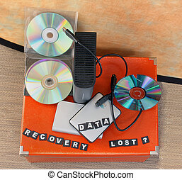 Lost data recovery - Recovery of lost data on all digital...