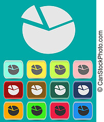 Vector illustration of business concept icon