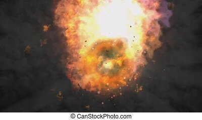 Cosmic Explosion - Animation of a cosmic Explosion