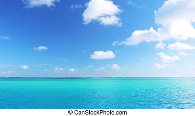 tropical blue ocean, aqua lagoon - tropical blue ocean 1080p...