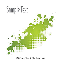 Splatter Grunge vector background