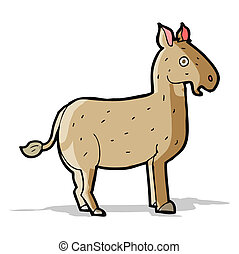cartoon mule