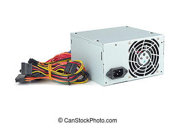 Power Supply - Power supply of PC isolated with clipping...