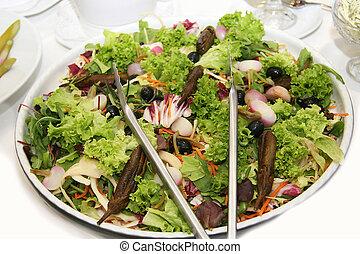 fresh Salad -  Frischer, gesunder salat