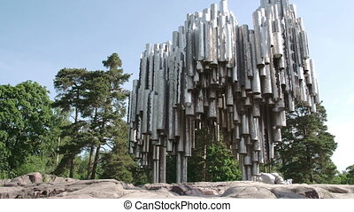 A big Sibelious monument from Finland FS700 Odyssey 7Q - A...