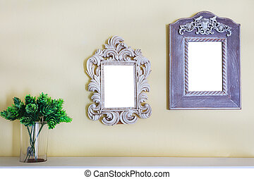 picture photo frame on wall