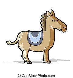 burro, caricatura