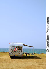 Mobile home with vacation