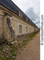 Spiral buttress of Corderie Royale in Rochefort - Buttress...