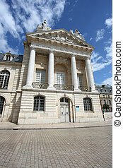 Dijon, Burgundy - Liberation Square and the Palace of Dukes...