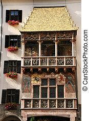 Innsbruck landmark - Famous landmark in Innsbruck, Tirol,...