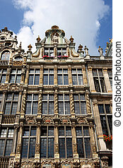 Bruxelles - Beautiful building next to Grand Place Grote...
