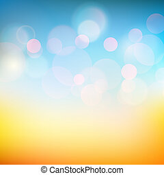 Vector soft colored smooth sunny shine background - Vector...