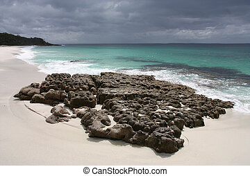 Hyams Beach, Jervis Bay - Hyams Beach in Jervis Bay, New...