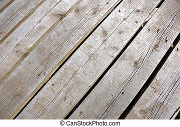 wood plank walkway close-up - wood plank walkway with small...