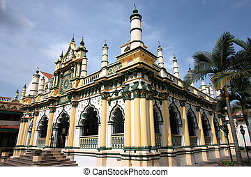 Mosque - Masjid Abdul Gaffoor in Singapore Beautiful mosque...