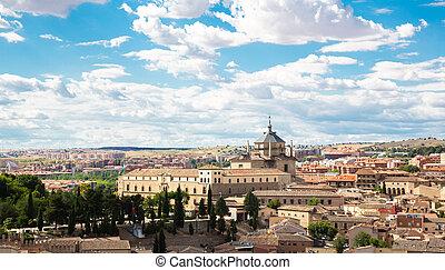 Toledo Cityscape - Toledo old town Cityscape Spain