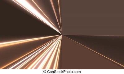 Metallic Light Beam Rays