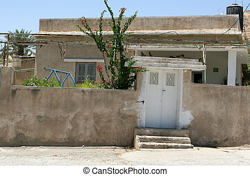 Home In Old Jericho, Israel - A Palestinian home along a...
