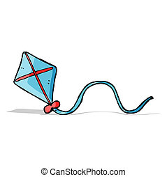 cartoon kite
