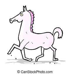 cartoon horse