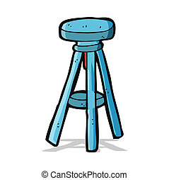 cartoon stool