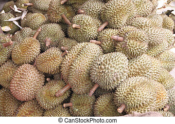 Fresh durian fruit. - Fresh durian fruit for foods...