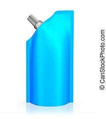 青, 注ぎ口, 袋