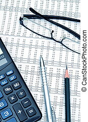 finance and accounting - Best of Office still life Modern...