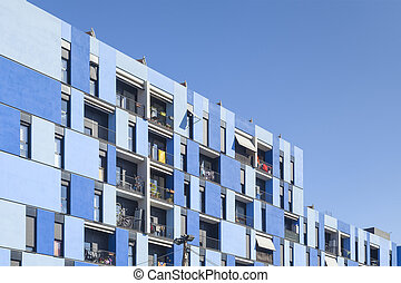 modern apartments in the city of barcelona