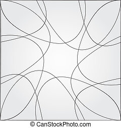 Abstract curve vector background.